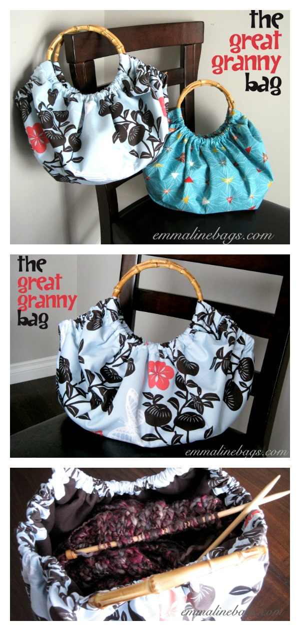 The Great Granny Tote Bag Free Sewing Pattern