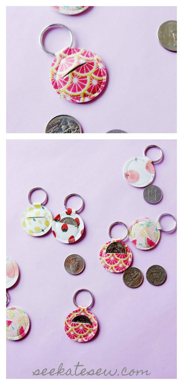 Aldi Quarter Keychain Free Sewing Pattern