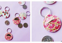 Aldi Quarter Keychain Free Sewing Pattern