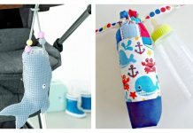 Baby Bottle Cover Free Sewing Pattern