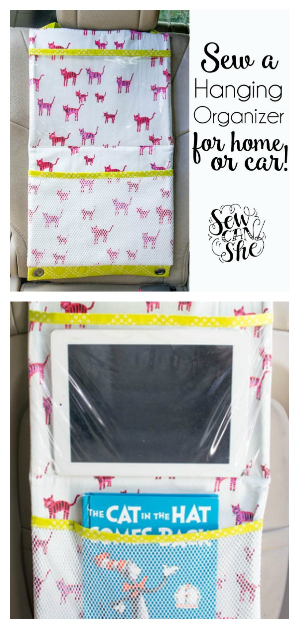 Car Hanging Organizer Free Sewing Pattern
