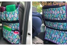 Car Seat Protector Free Sewing Pattern
