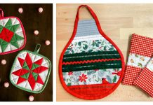 Christmas Hot Pad Free Sewing Pattern