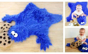 Cookie Monster Rug Free Sewing Pattern