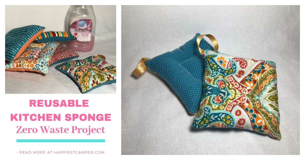 Diy Zero Waste Kitchen Sponge Free Sewing Pattern