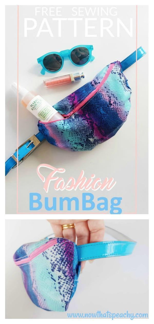 Hip Belt BumBag Free Sewing Pattern