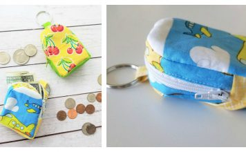 Mini Backpack Keychain Free Sewing Pattern