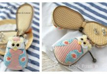 Owl Macaron Coin Purse Free Sewing Pattern