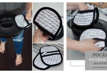 Pocket Potholders Free Sewing Pattern