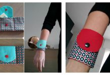 Wrist Wallet Free Sewing Pattern