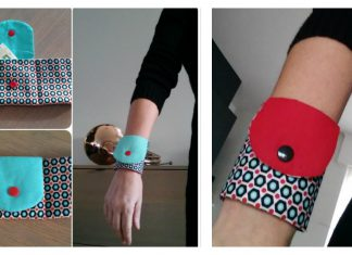 Wrist Wallet Free Sewing Pattern