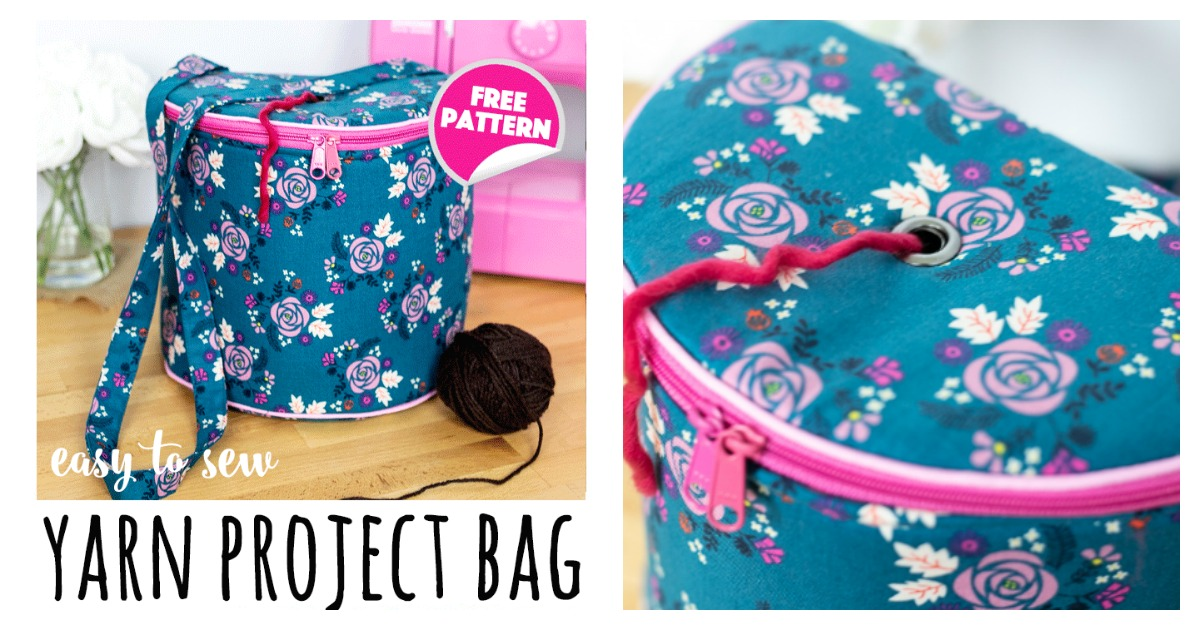 Yarn Project Bag Free Sewing Pattern