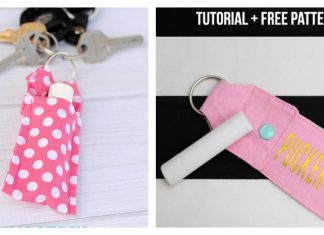 Chapstick Holder Free Sewing Pattern