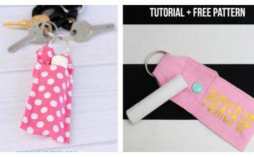 Chapstick Holder Free Sewing Pattern