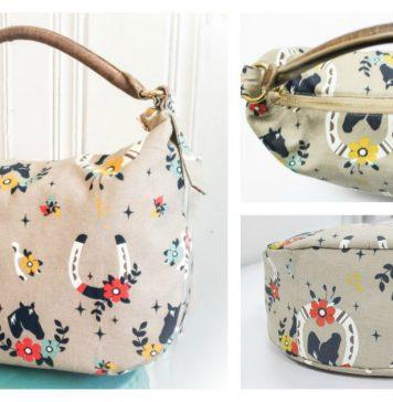 The Lauren Bag Free Sewing Pattern