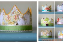 Felt Crown Free Sewing Pattern
