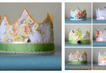 Felt Crown Free Sewing Pattern