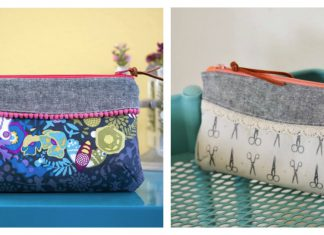 The Curvy Clutch Free Sewing Pattern