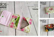 Crisscross Cards Wallet Free Sewing Pattern