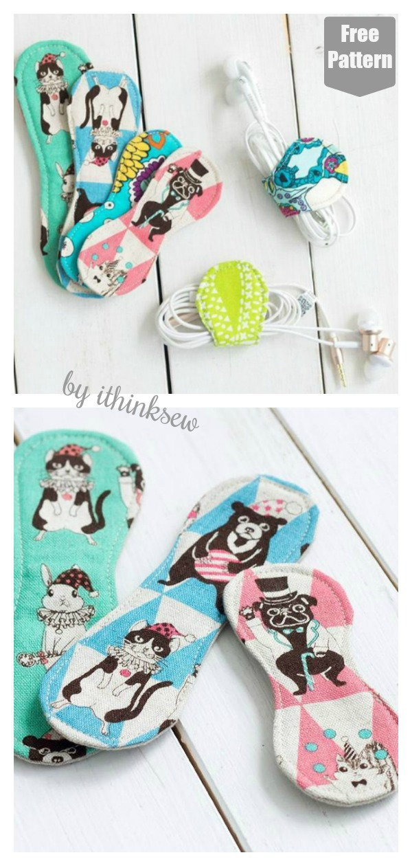 Headphone Wrapper Free Sewing Pattern