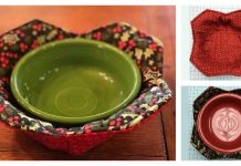 Microwave Bowl Potholder Free Sewing Pattern