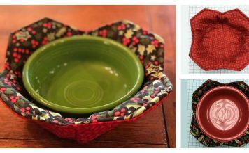 Microwave Bowl Potholder Free Sewing Pattern