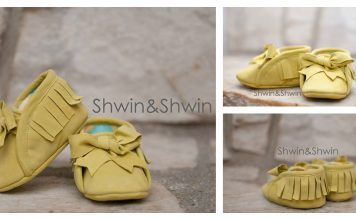 Baby Moccasins Free Sewing Pattern