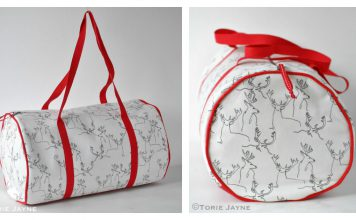 Duffel Bag Free Sewing Pattern