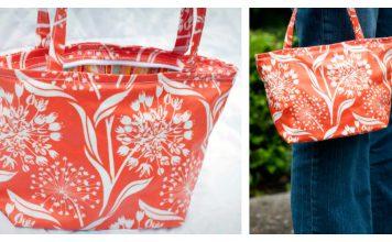 Little Vinyl Bag Free Sewing Pattern