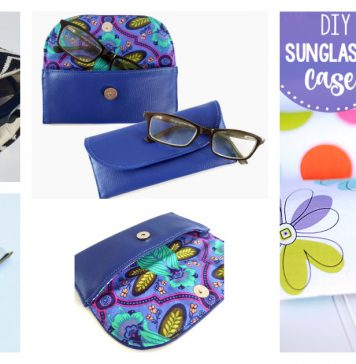 The Glasses Case Free Sewing Pattern