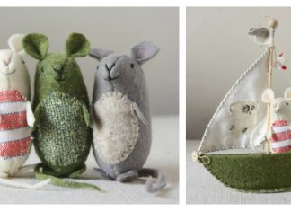 Very Nice Mice FREE Sewing Pattern and Template