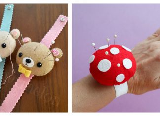 Adorable Wrist Pincushion Free Sewing Pattern