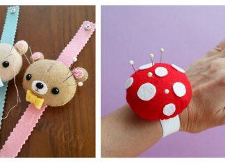 Adorable Wrist Pincushion Free Sewing Pattern
