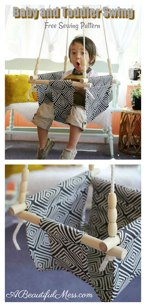 Baby and Toddler Swing Free Sewing Pattern