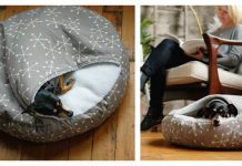 Burrow Dog Bed Sewing Pattern
