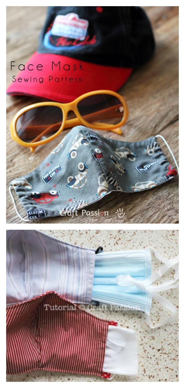 Face Mask Free Sewing Pattern
