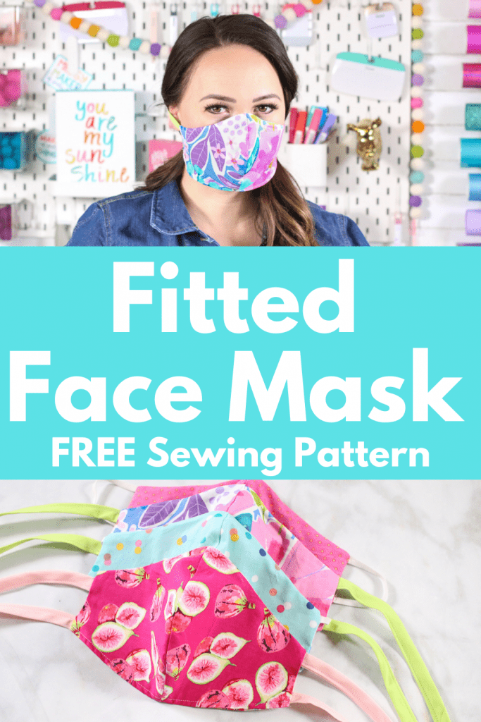 Fitted Face Mask Free Sewing Pattern