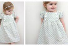 Junebug Baby Dress Free Sewing Pattern