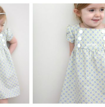 Junebug Baby Dress Free Sewing Pattern