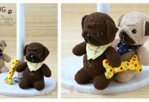 Sock Pug Puppy Free Sewing Pattern