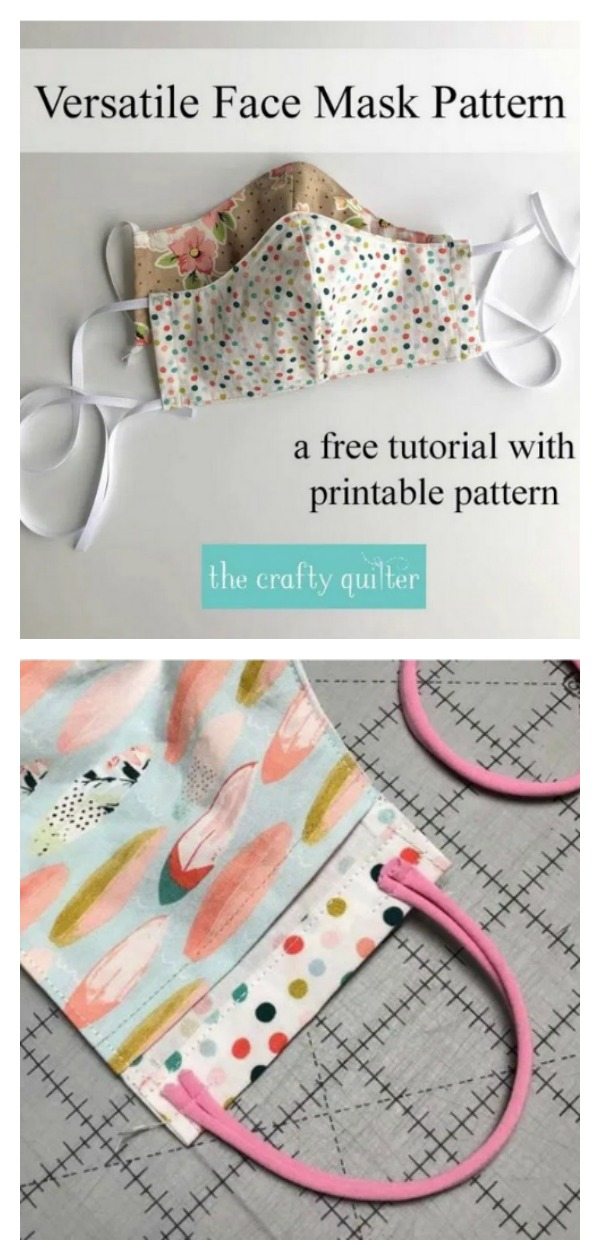 Versatile Face Mask Free Sewing Pattern