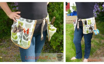 Garden Tool Belt Free Sewing Pattern