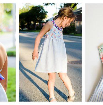 Girl Braided Dress Free Sewing Pattern
