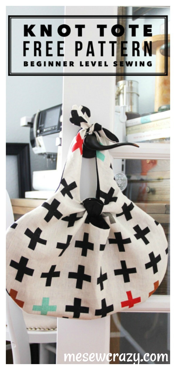 Knot Tote Free Sewing Pattern