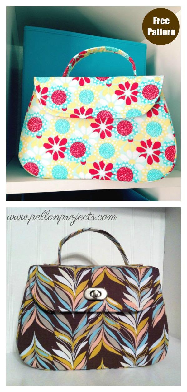 Mabel Vintage Handbag Free Sewing Pattern