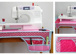 Sewing Machine Mat Free Sewing Pattern