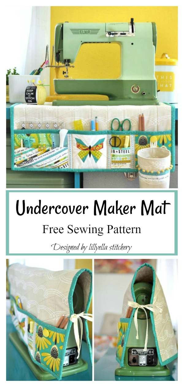 Undercover Maker Mat Free Sewing Pattern