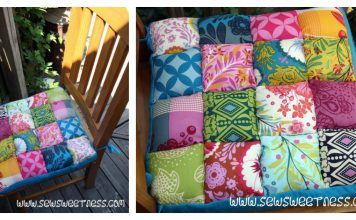 Chair Cushions Free Sewing Pattern