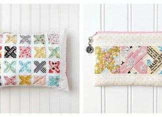 Cross Stitch Quilt Block & Pillow Free Sewing Pattern
