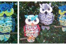 Fabric Yo-Yo Owl Sewing Pattern